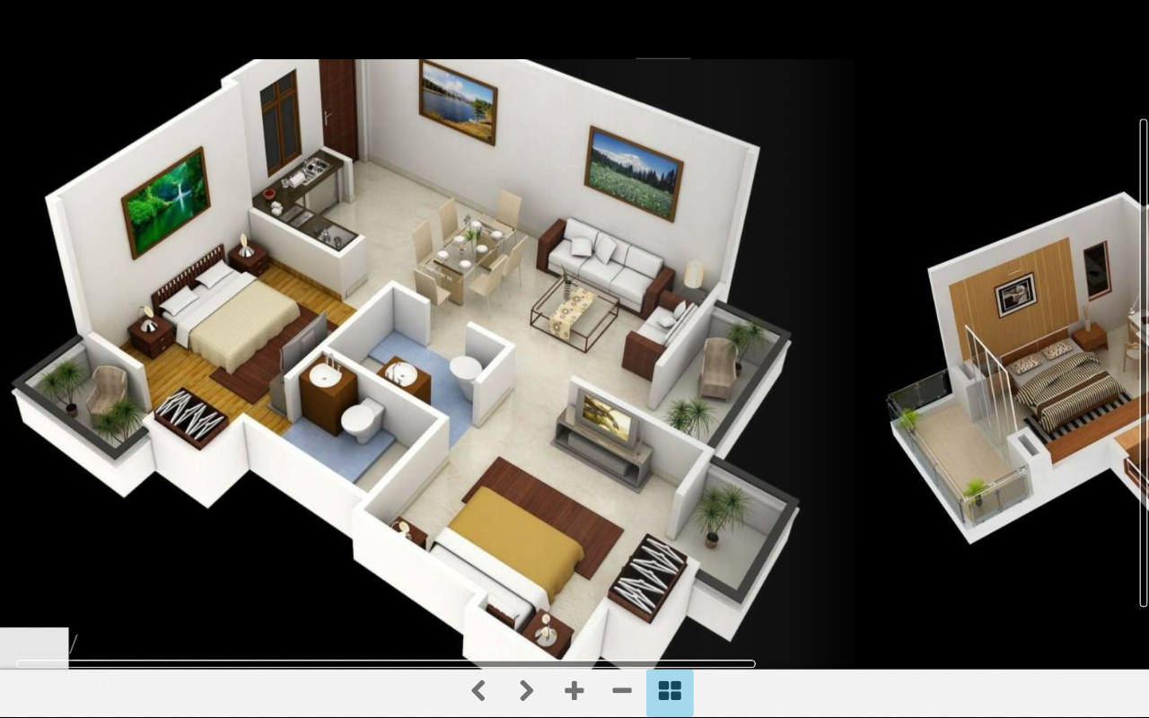 3d home plans android apps on google play for Room design 3d app