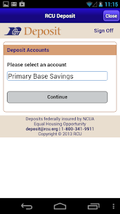 RCU Deposit - screenshot thumbnail
