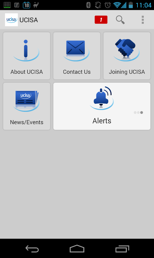 UCISA - screenshot