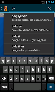 Tesaurus Bahasa Indonesia- screenshot thumbnail