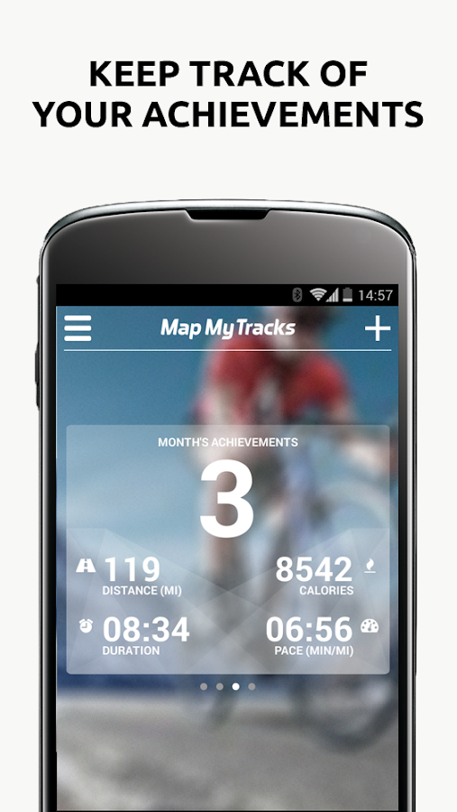 Map My Tracks OutFront Pro - screenshot