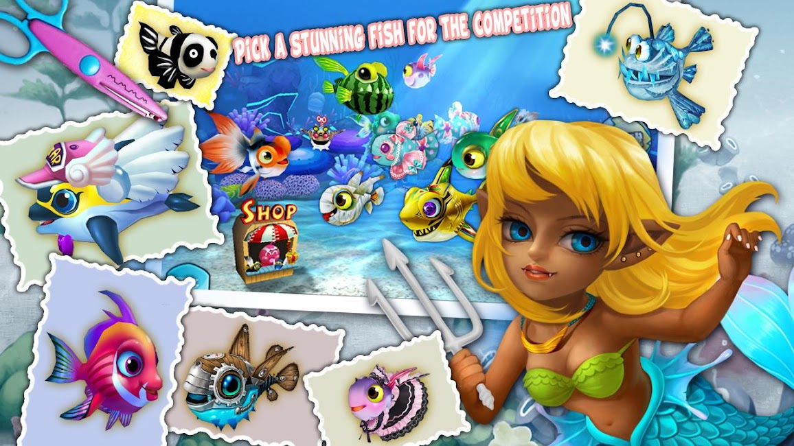 #8. Fish Party Online (Android)