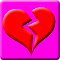 Broken Heart Battery Widget icon