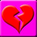 Broken Heart Battery Widget