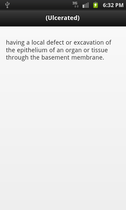 Pathology Dictionary - screenshot
