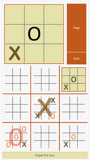 【免費解謎App】Ultimate Tic Tac Toe-APP點子
