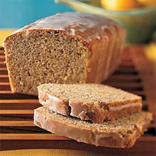 Lemon-Flaxseed Loaf Cake