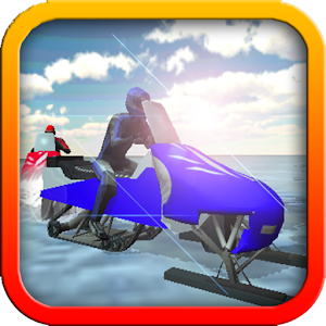 Ice Frozen Snow Mobile Racing for PC and MAC