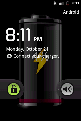 My Battery Wallpaper - screenshot