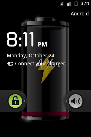 My Battery Wallpaper - screenshot