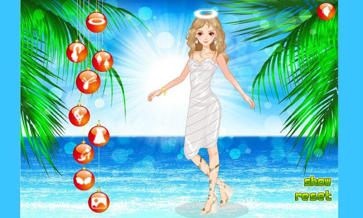 Beach Angels Dressup