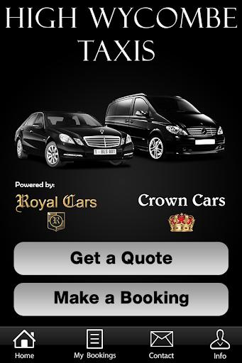 玩交通運輸App|Royal Crown Cars High Wycombe免費|APP試玩
