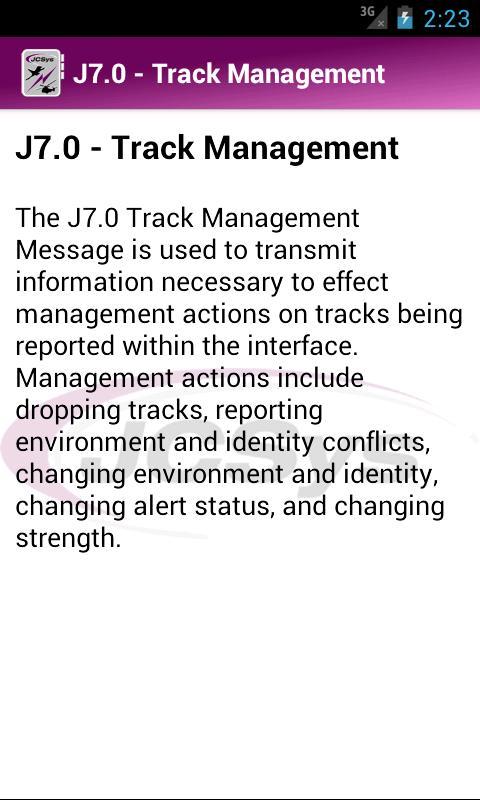 JCSys Reference- screenshot