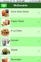 Screenshot of EatJO Food Delivery in Jordan
