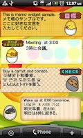 Screenshot of Memo Pad Mukitamago (sticky)