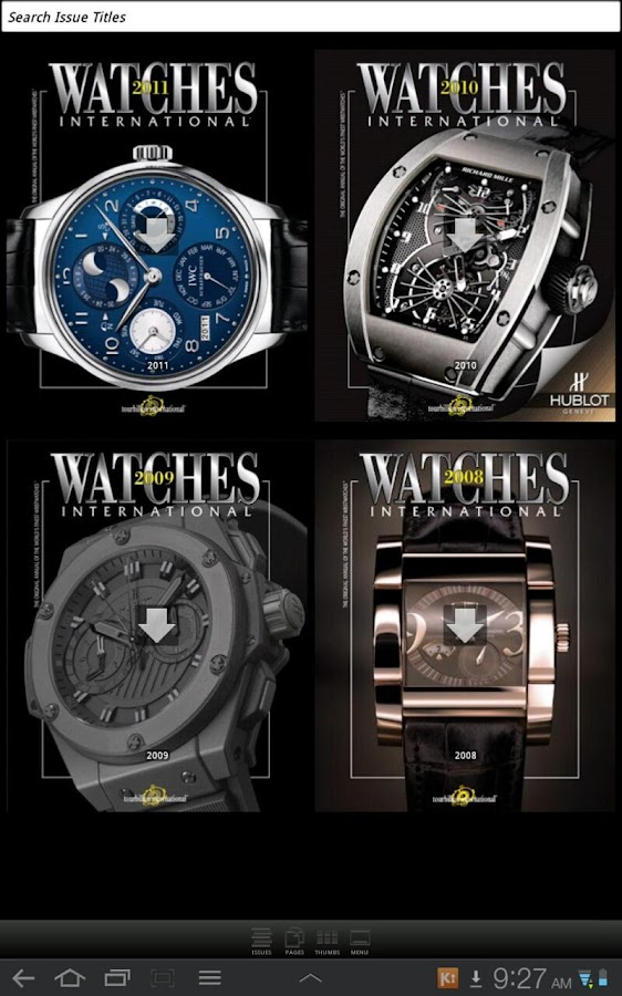 Watches International- screenshot