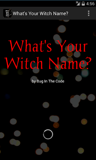 What's Your Witch Name