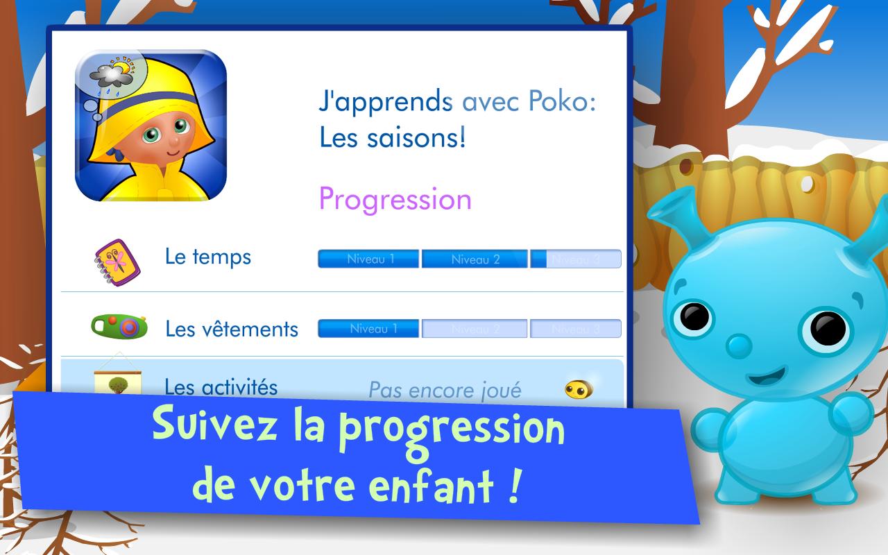 Les saisons ! Jeux enfants- screenshot