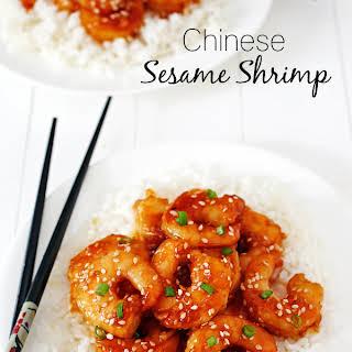 Chinese Sesame Shrimp.