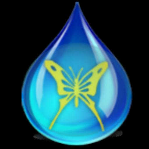 '雨滴'手機主題——暢遊桌面 個人化 App LOGO-APP試玩