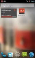 Screenshot of SMS Jízdenka