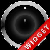 Poweramp Widget Black Robot