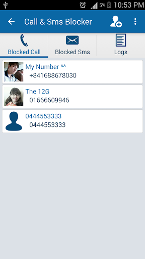 Free Call and Sms Blocker