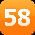 58同城-招聘,兼职,租房,二手房,团购,拼车,二手车 logo