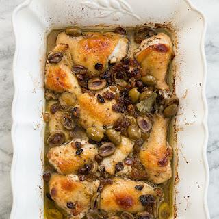 Spanish Baked Chicken.