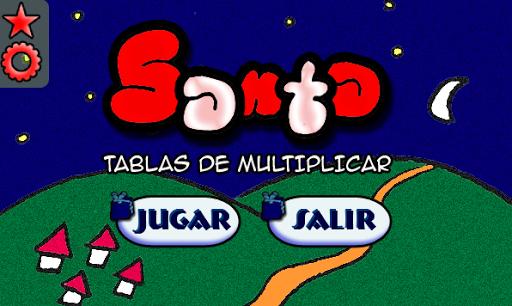 Santa: Tablas de Multiplicar