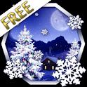 Winter Snow Xmas LWP Free icon