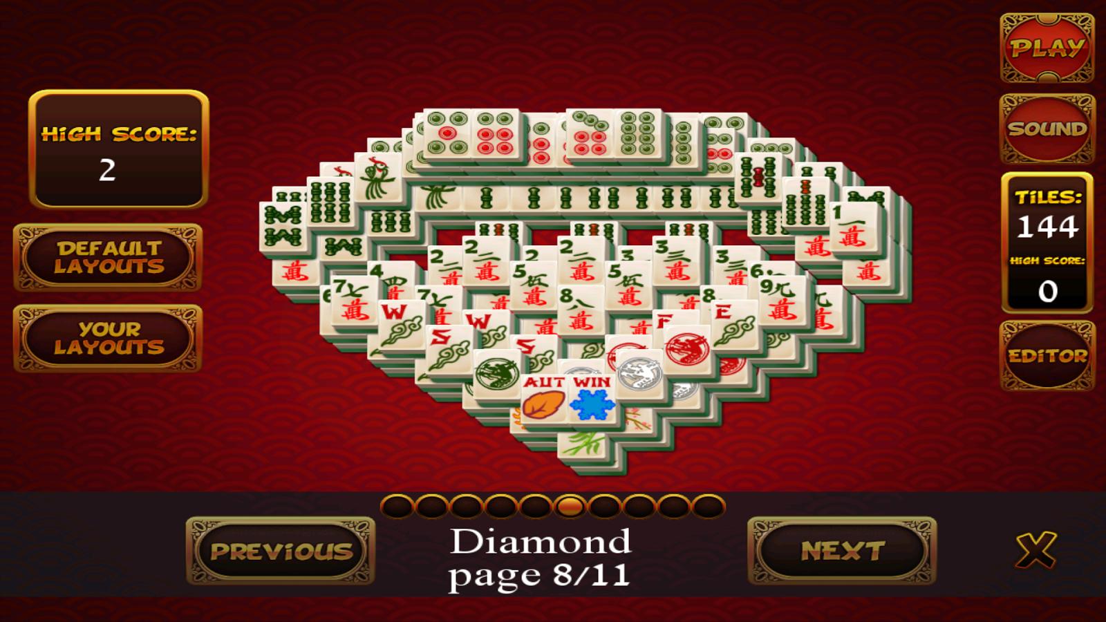 jeux de mahjong gratuit applications android sur google play. Black Bedroom Furniture Sets. Home Design Ideas