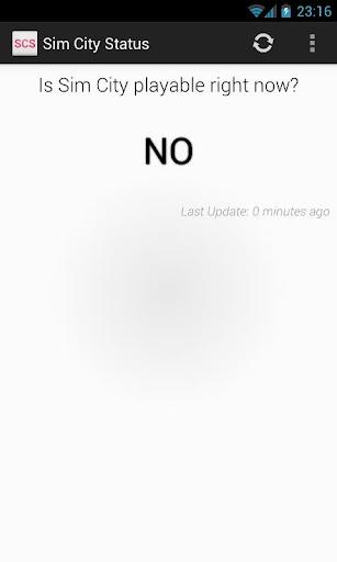SimCity Server Status