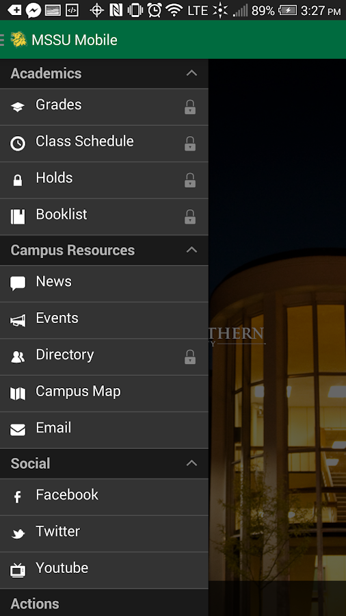 MSSU Mobile- screenshot