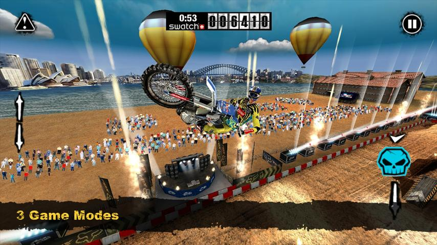RED BULL X-FIGHTERS FREE - screenshot