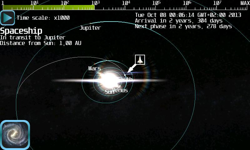 Space Flight Simulator - screenshot