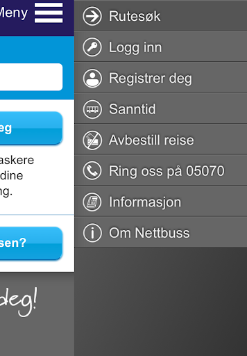 Nettbuss.no screenshot 3