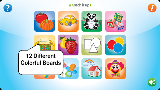 Match It Up 1 for babies- screenshot thumbnail