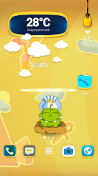 Cut the Rope Time Travel Theme APK screenshot thumbnail 2