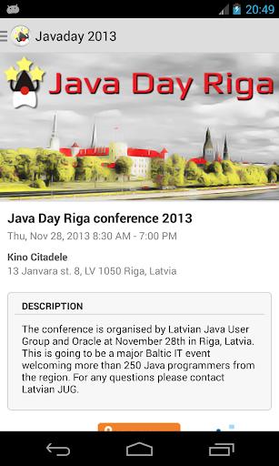 Riga Java Day 2013