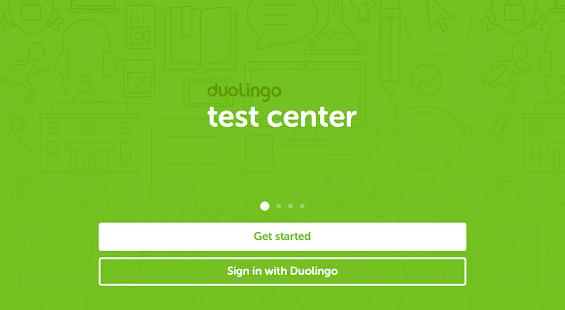 Duolingo Test Center- screenshot thumbnail