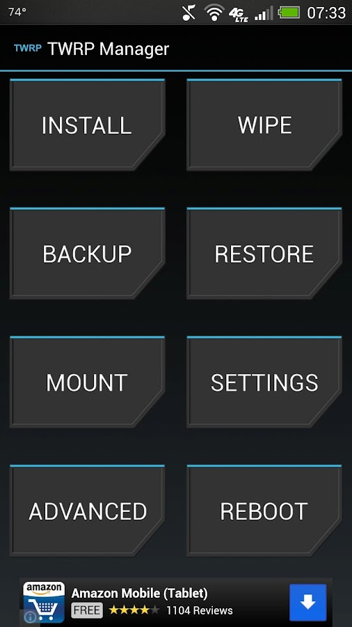 TWRP Manager  (ROOT) - screenshot