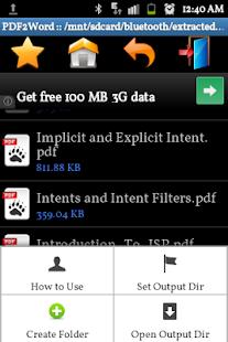 玩免費商業APP|下載PDF to Word Converter Pro app不用錢|硬是要APP