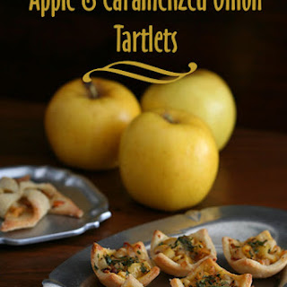 Apple & Caramelized Onion Tartlets – Low Carb and Gluten-Free