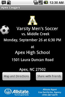 Apex Cougars - screenshot thumbnail