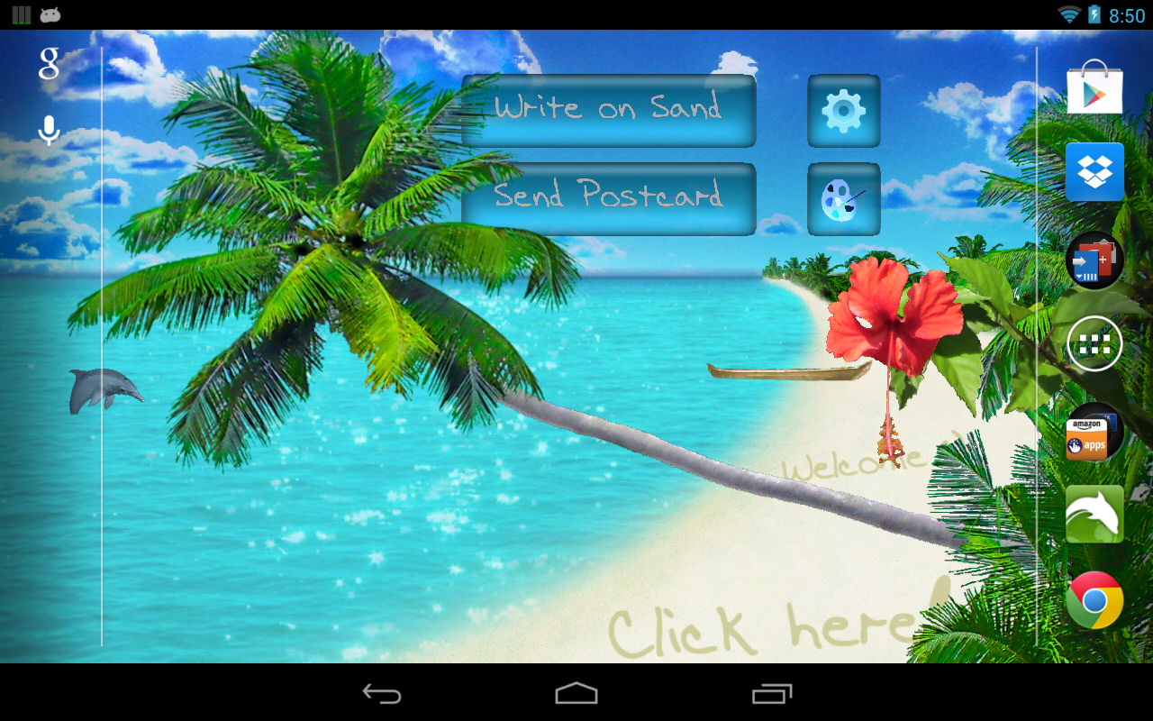 Beach Live Wallpaper - screenshot