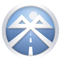 Bluetooth and SMS in Car icon