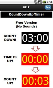 Countdown Countup Timer Free screenshot 0