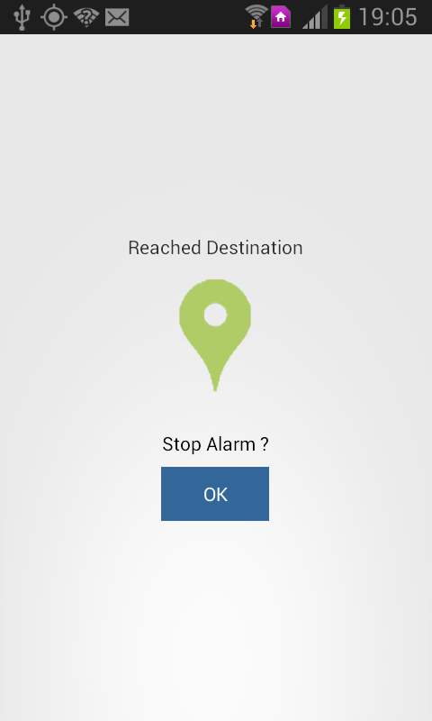 Travel Alarm - screenshot