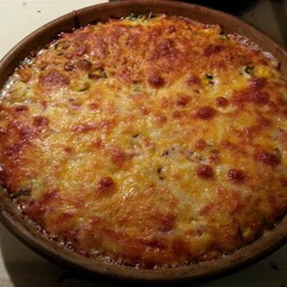 Shredded Potato Quiche.